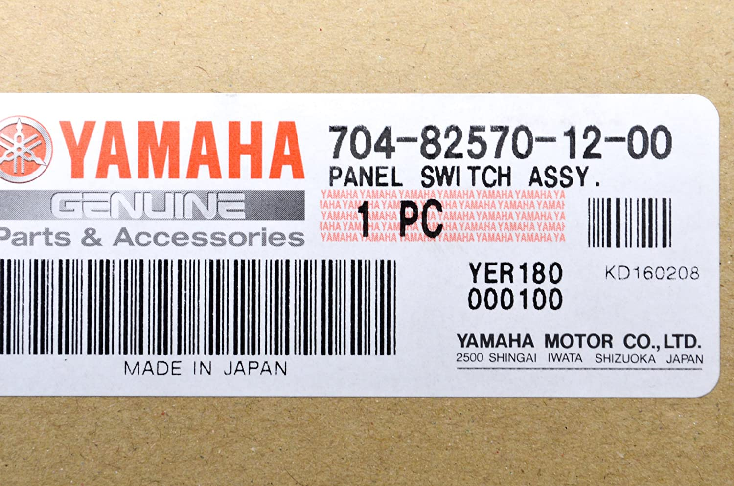 91hzpoKKrAL._SL1500_ amazon com oem yamaha outboard single engine switch panel 704  at fashall.co