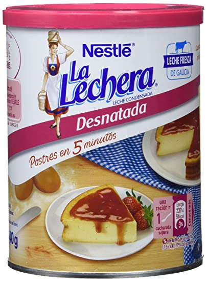 NESTLÉ LA LECHERA Leche Condensada Desnatada Lata. Abrefácil ...