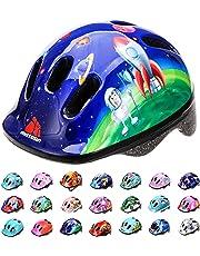 Casque Vélo Enfant Bebe VTT et VTC Unisexe Casque de Cyclisme de Réglable de Sport pour BMX Skate Scooter Patines Conçu pour la Sécurité des Utilisateur MV6-2