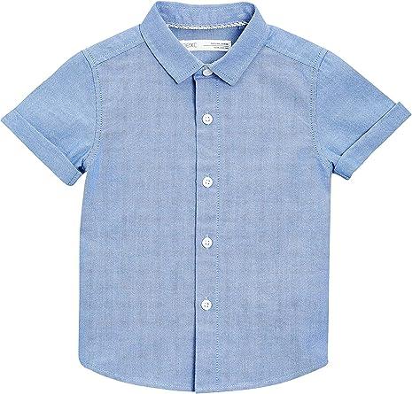 next Niños Camisa Oxford De Manga Corta (3 Meses - 6 Años)