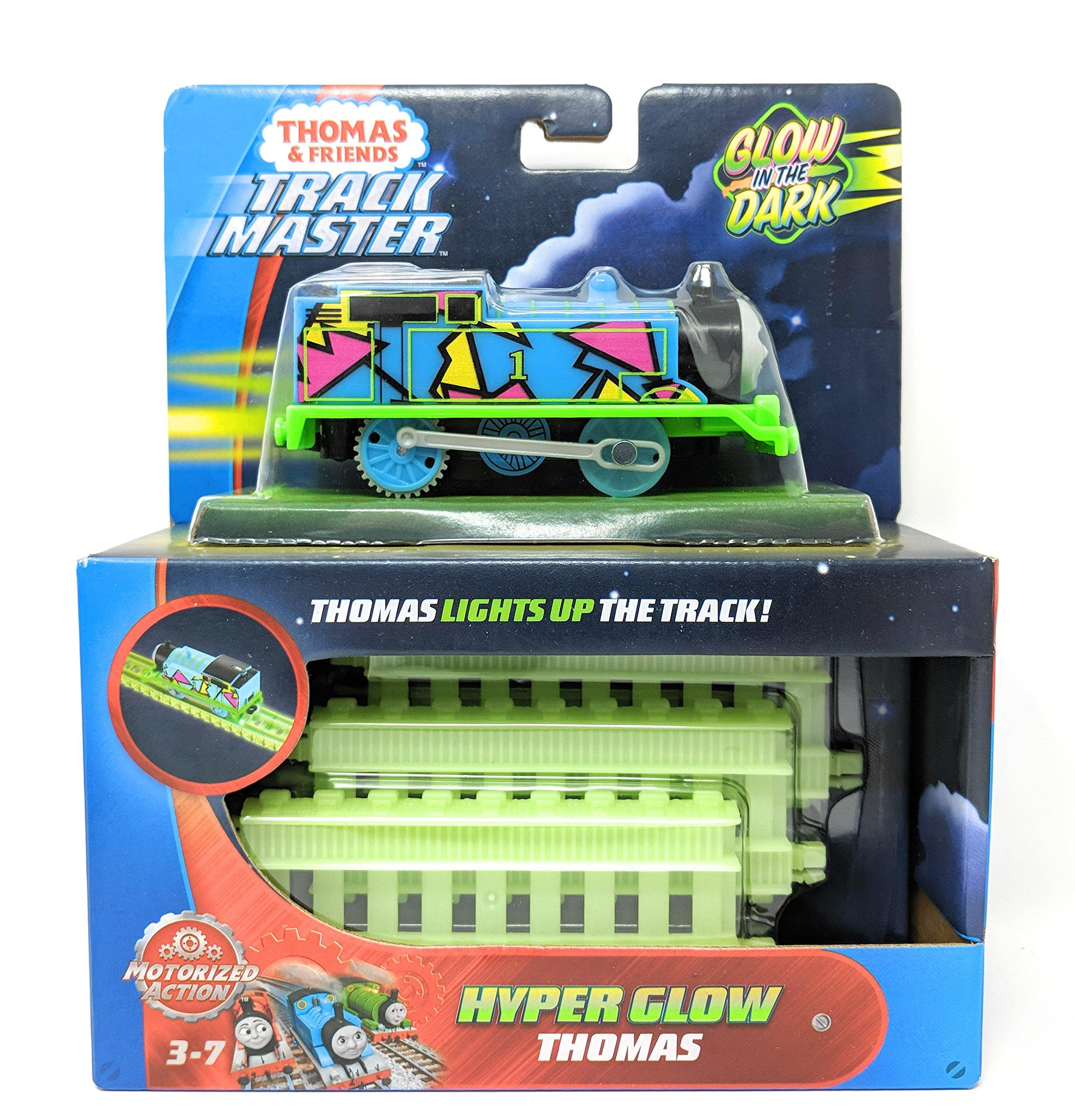 Thomas & Friends Fisher-Price TrackMaster, Motorized Hyper Glow Thomas