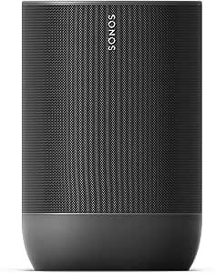 Sonos Move Portable Speaker (MOVE1AU1BLK),Black