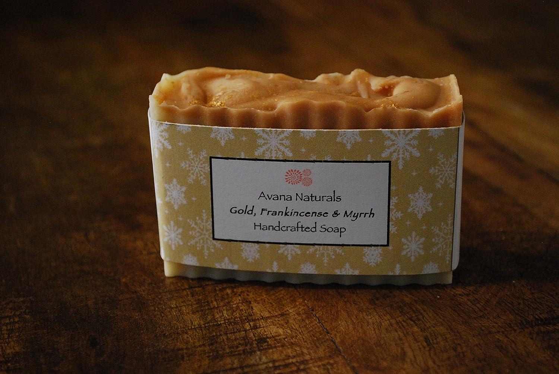 Gold, Frankincense & Myrrh Soap
