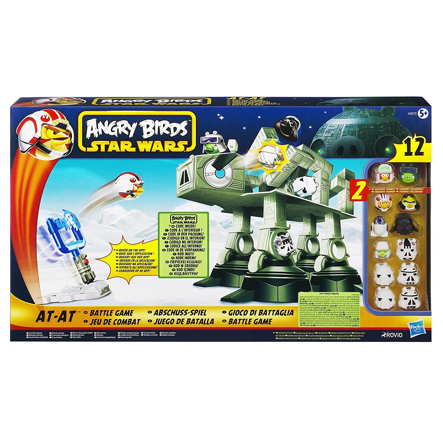 Amazon Angry Birds Star Wars AT AT Attack Battle Game Toys