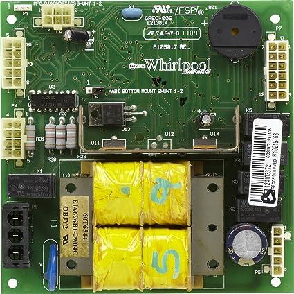 Whirlpool W10219463 Electric Control on