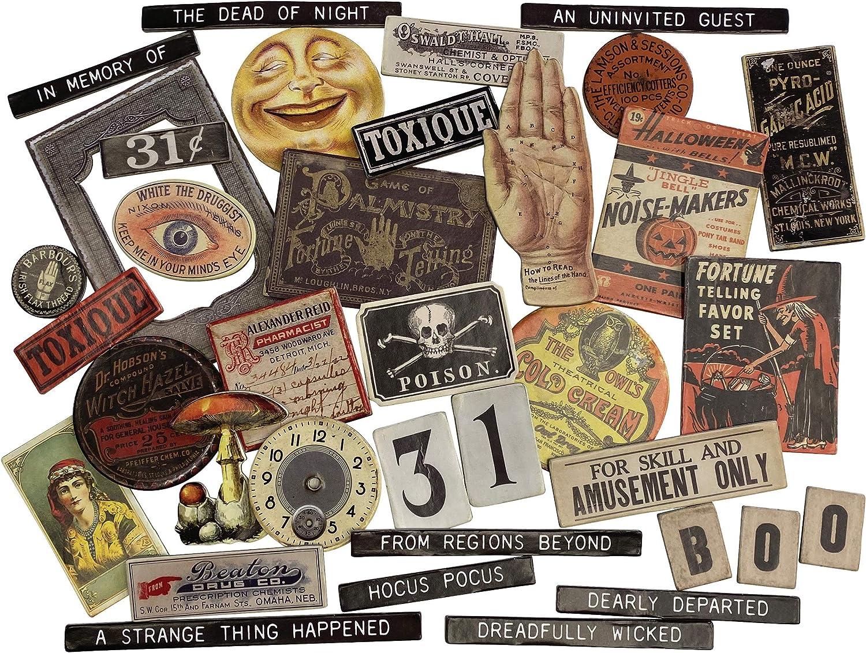 Tim Holtz 2020 Halloween Idea-Ology Baseboards 94060