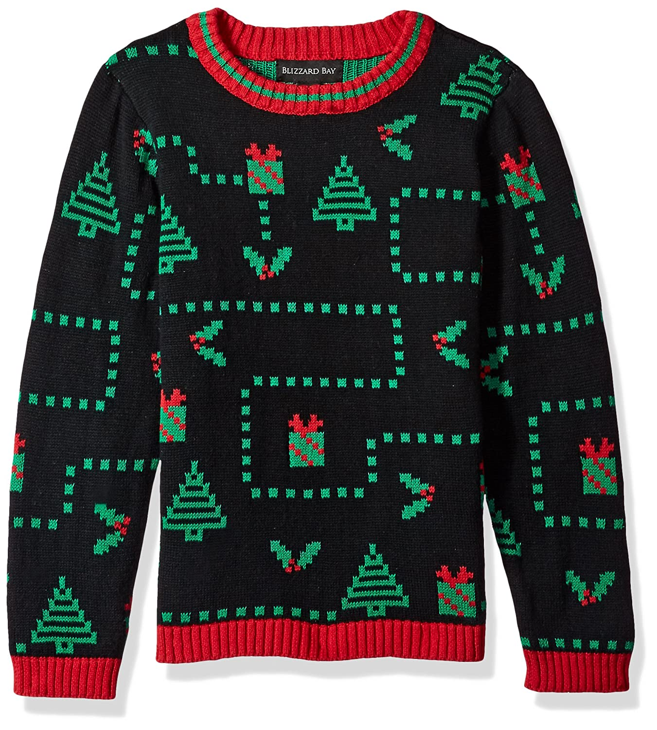 Blizzard Bay Boys' Pixel Presents Xmas Sweater Blizzard Bay Boys 8-20 B65092X