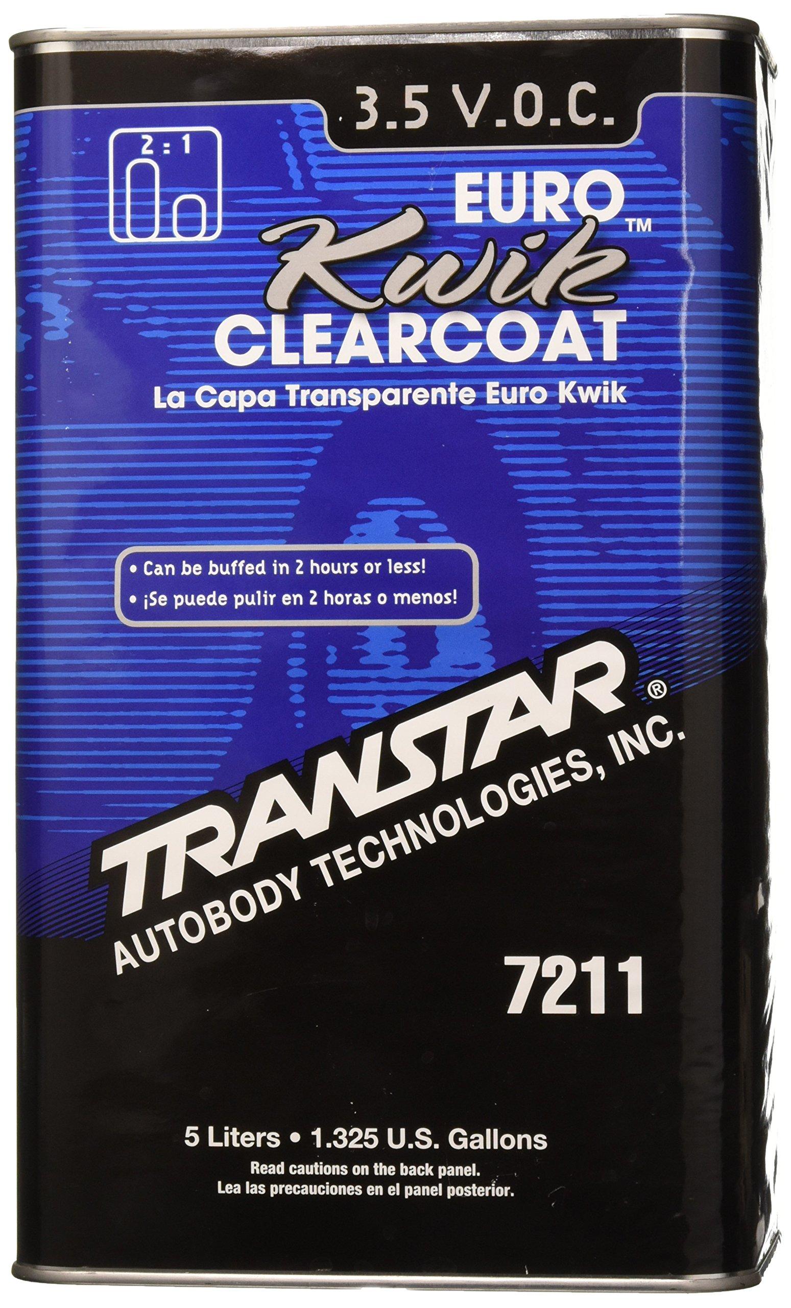 TRANSTAR 7211 Euro Kwik Clear Coat - 5 Liter