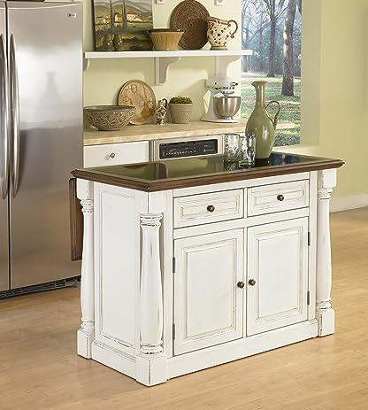 Kitchen Island With Granite | Amazon Com Home Styles 5021 94 Monarch Kitchen Island With