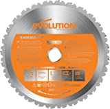 Evolution Power Tools RAGE Multi-Purpose Carbide-Tipped Blade, 255 mm