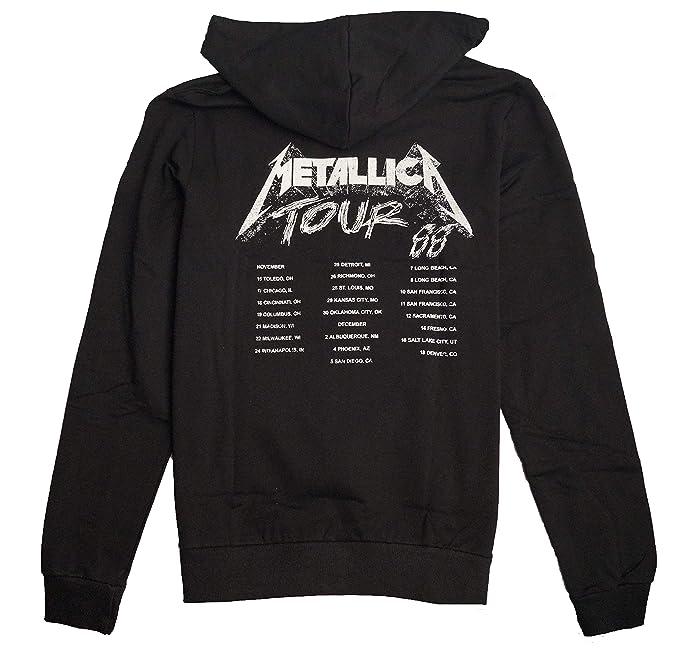 Metallica Chaqueta Sudadera con Capucha Hoodie con Cremallerara para Hombre: Amazon.es: Ropa y accesorios