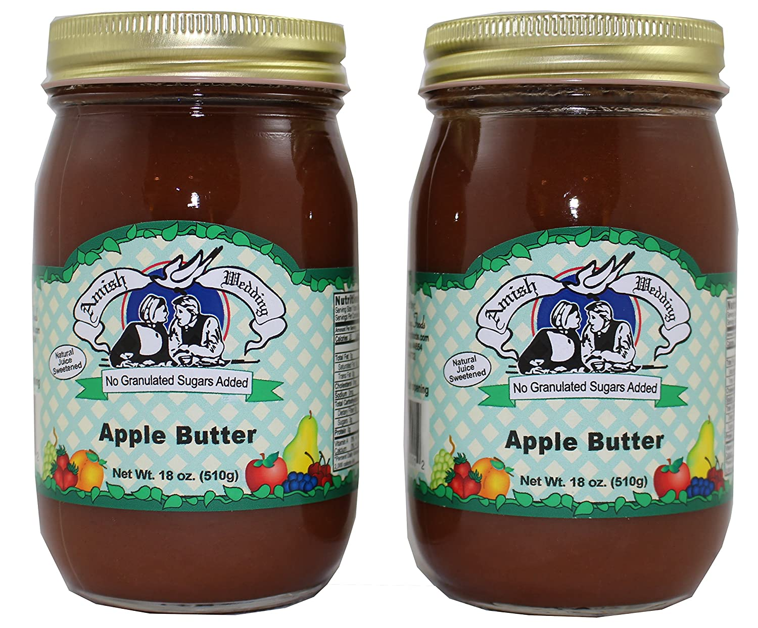 Amish Wedding All Natural Sugarless Apple Butter
