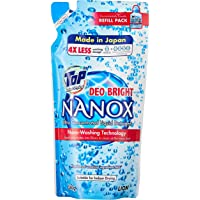 TOP NANOX Ultra Concentrated Liquid Detergent (Refill), Deo Bright, 360g