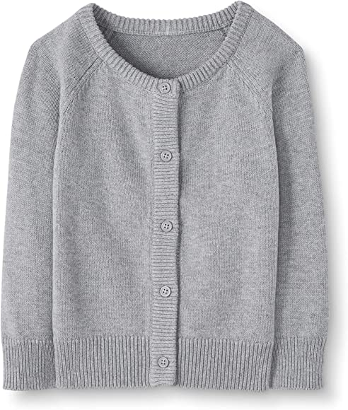 Moon and Back Baby Girls Toddler Cardigan Sweater