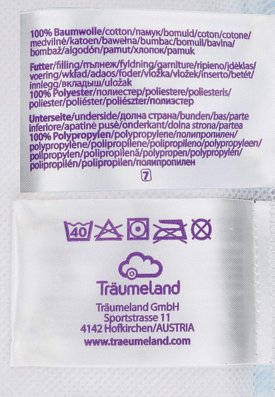 Tr/äumeland T0703211 LAUFGITTERmatratze Basic passend f/ür Geuther Lucilee gro/ß Beige