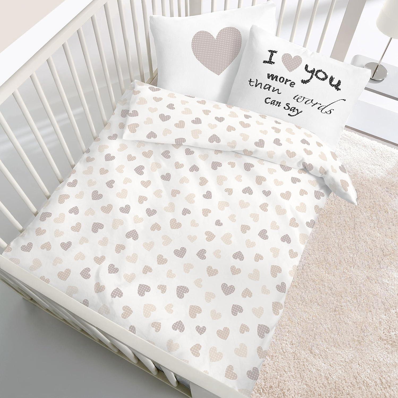 Bettbezug 100x135 Cm Baby Kinder Biber Bettwäsche Mädchen Jungen