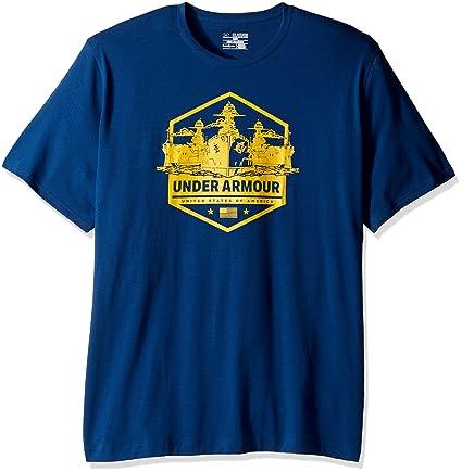 Amazon.com  Under Armour Men s Freedom By Sea T-Shirt  UNDER ARMOUR ... b62da7b60