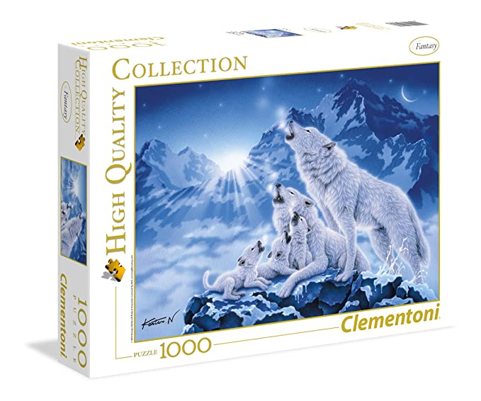150 opinioni per Clementoni- 39280- High Quality Collection Puzzle- Famiglia di lupi- 1000 Pezzi