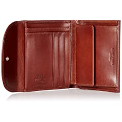 Whitehouse Cox Saddle Collection Small 3-Fold Wallet S1058: Cognac