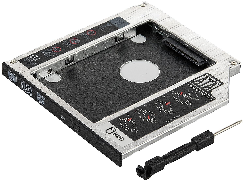Marco de unidad de disco duro SSD/HDD 1009505 de Poppstar, en ranura ...