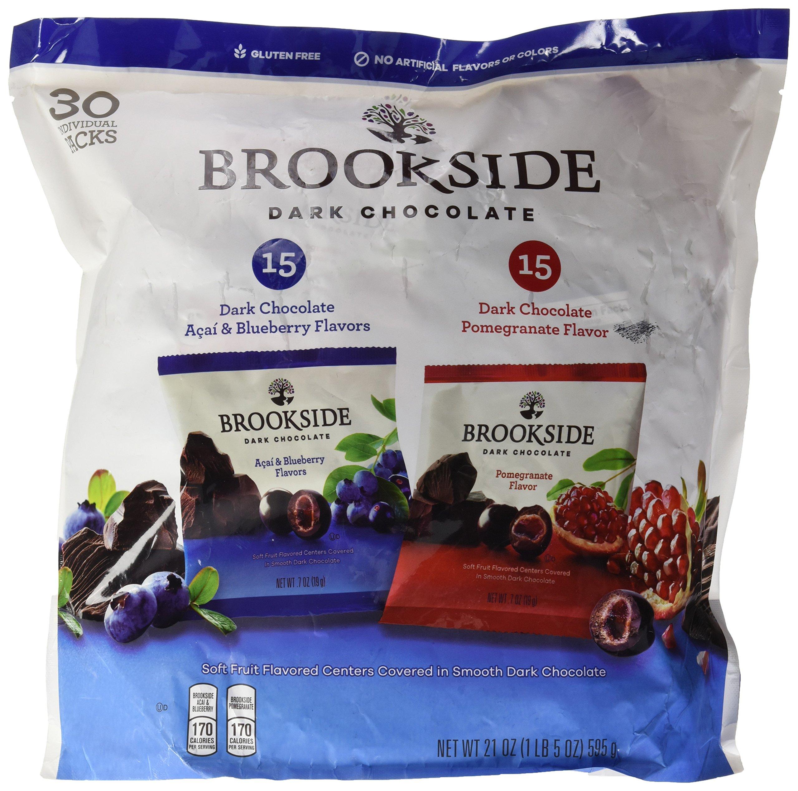 Brookside Dark Chocolate Variety Pack, 21 Ounce