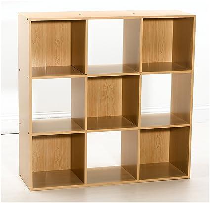 Amazon Closetmaid 8645 9 Cube Organizer Maple Finish Home