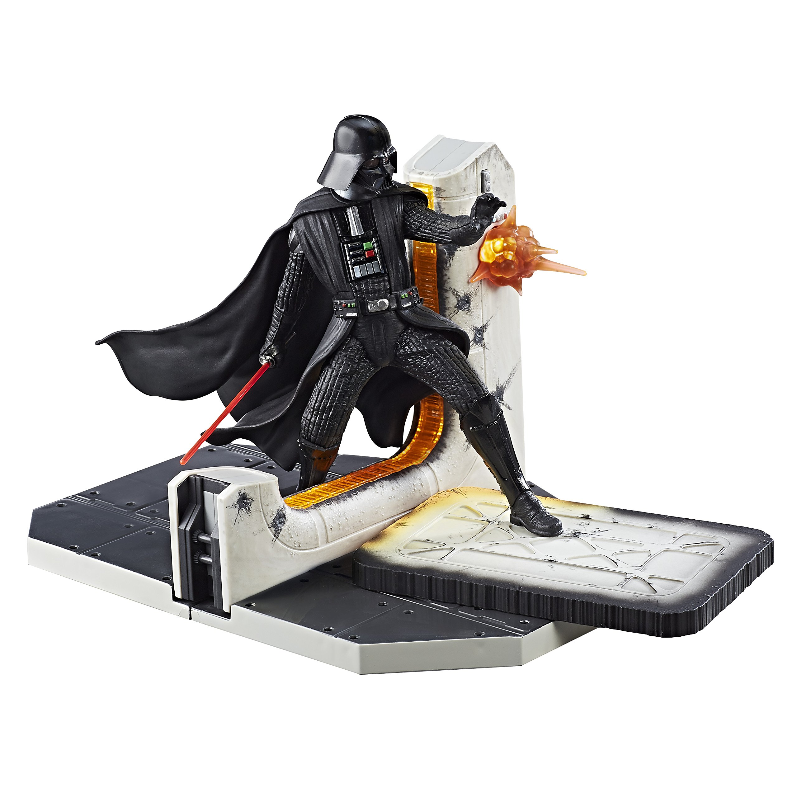 Star Wars Black Series Darth Vader Table Centerpiece - Multiple Light-Up Parts - 2 AAA Batteries by Star Wars