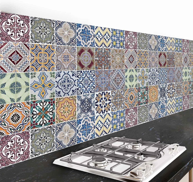 260 x 47, Azulejos CREARREDA Dekoidea by Paraschizzi Adesivo per Cucina