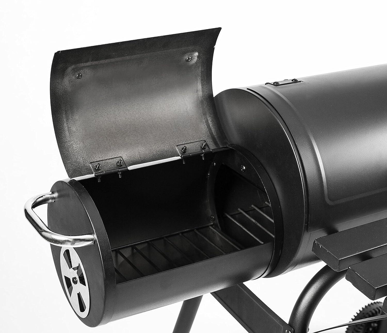 Mayer Barbecue RAUCHA Smoker Barbacoa parrilla MS-100 Basic: Amazon.es: Jardín