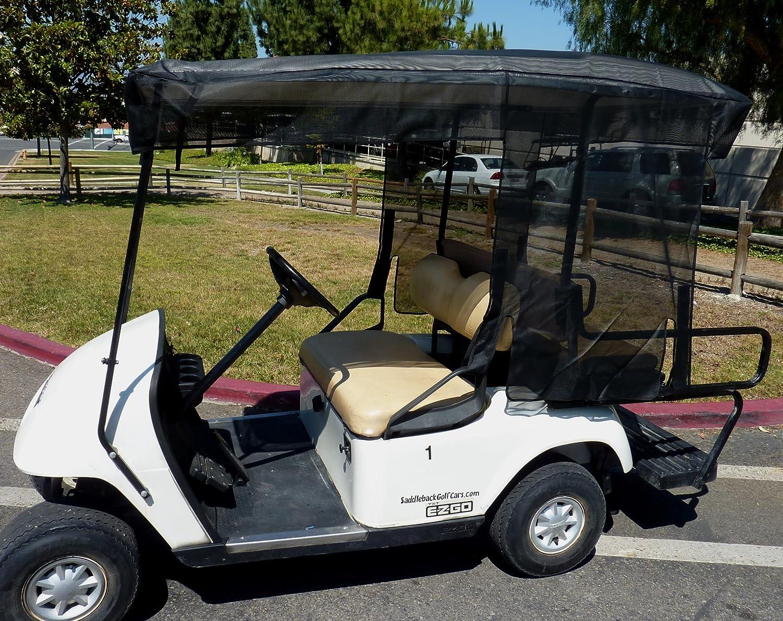 Amazon.com: Carrito de golf Sun Shade Cover para 4 plazas ...