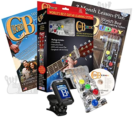 Amazon.com: Chord Buddy Guitar Learning System with Clip-on ...