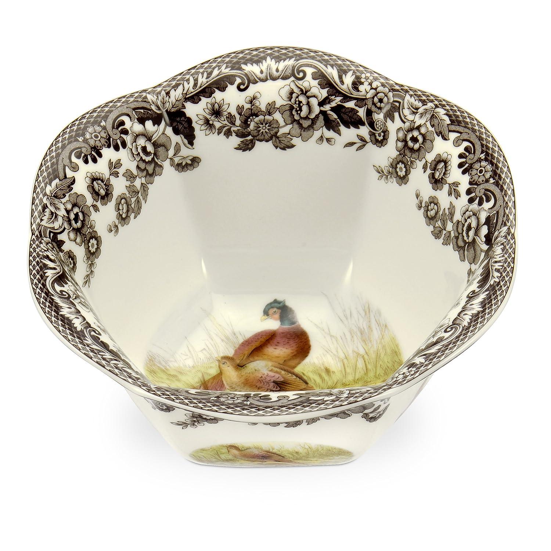 Spode Woodland Nut Bowl with Pheasant Portmeirion USA 1536425