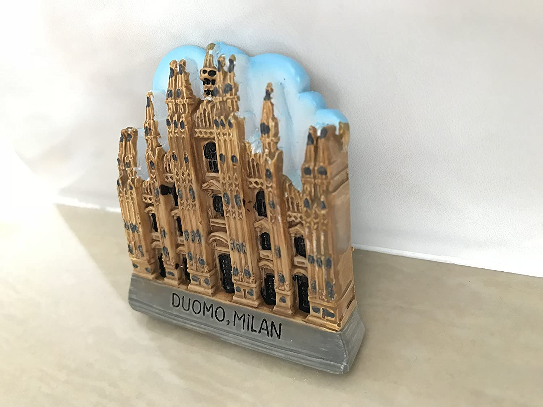 Magnete 3D Duomo Milano Cattedrale Italia Frigorifero Regalo Regalo Casa /& Cucina Decorazione Magnetica Adesivo Magnetico Milano Cattedrale Italia Calamita Frigorifero