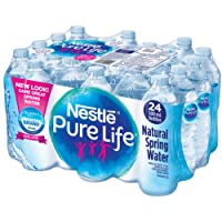 Nestle Pure Life 100% Natural Spring Water 24 Count, 500ml