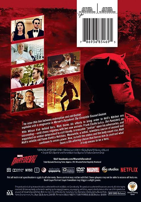 Amazon.com: Daredevil: The Complete Second Season: Royce ...