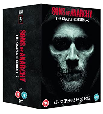 Amazon Com Sons Of Anarchy Complete Seasons 1 7 Dvd Movies Tv