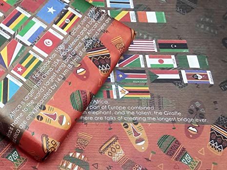 Amazon.com: eVincE 100 Gift Wrapping Papers of Africa ...