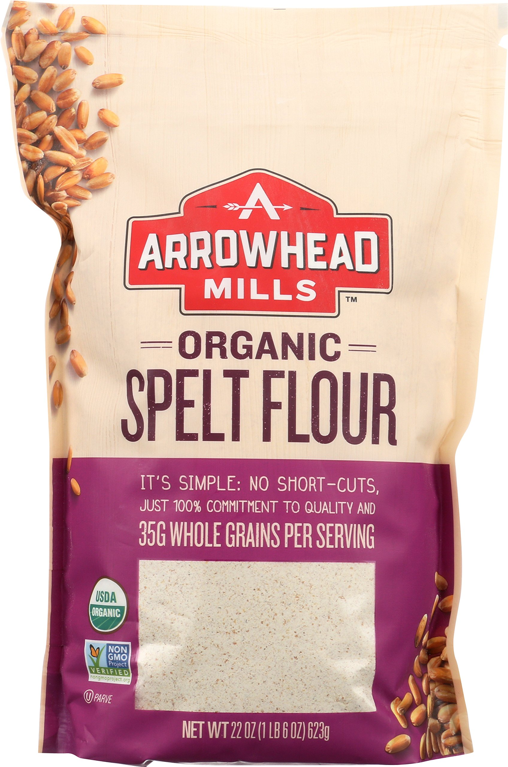 Amazon.com : Bob's Red Mill Organic Spelt Flour, 24 Ounce