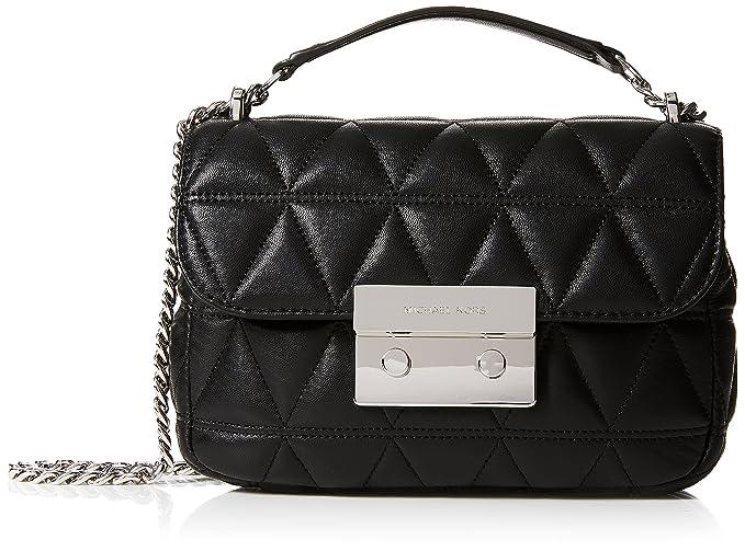 fb684d5e499ae Michael Kors Womens Sloan Shoulder Bag Black (Black) 30S7SSLL1L ...