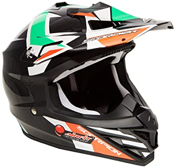 Scorpion Casco Moto VX-15 EVO AIR Robot, multicolor, talla XL