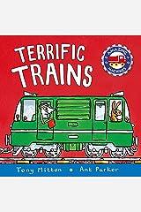Amazing Machines: Terrific Trains Board book