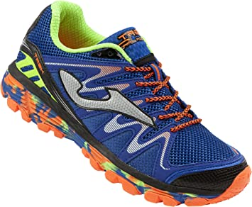 Joma Trek Zapatillas Trail Running Azul Size: 46 EU: Amazon.es: Zapatos y complementos