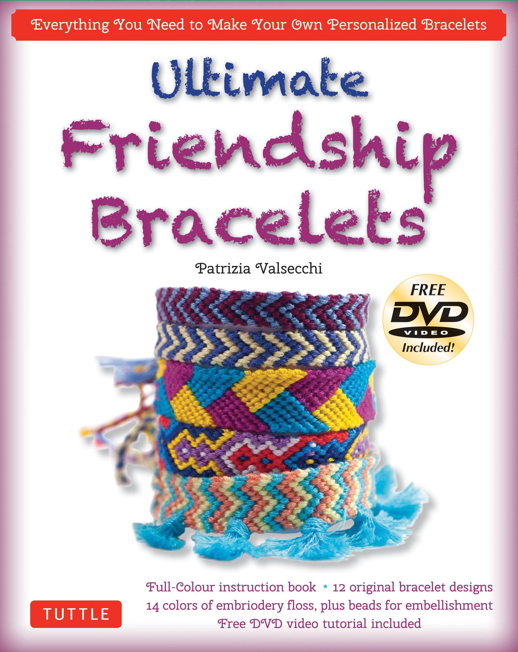1db065c9ff6f9 Amazon.com: Ultimate Friendship Bracelets Kit: (DVD; 64 page Color ...