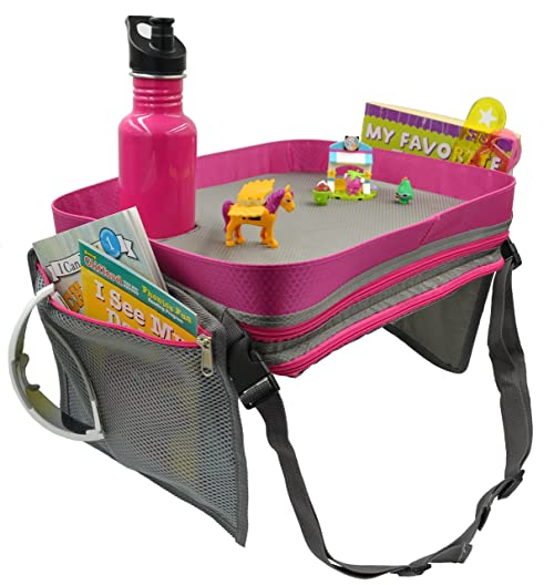 Kids Travel Activity & Snack Tray by On The Go Families