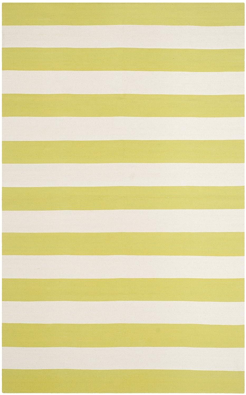 Safavieh La Paz handgewebter Teppich, MTK712A, Gelb   Weiß, 152 X 243  cm B00OCUL5VC Teppiche