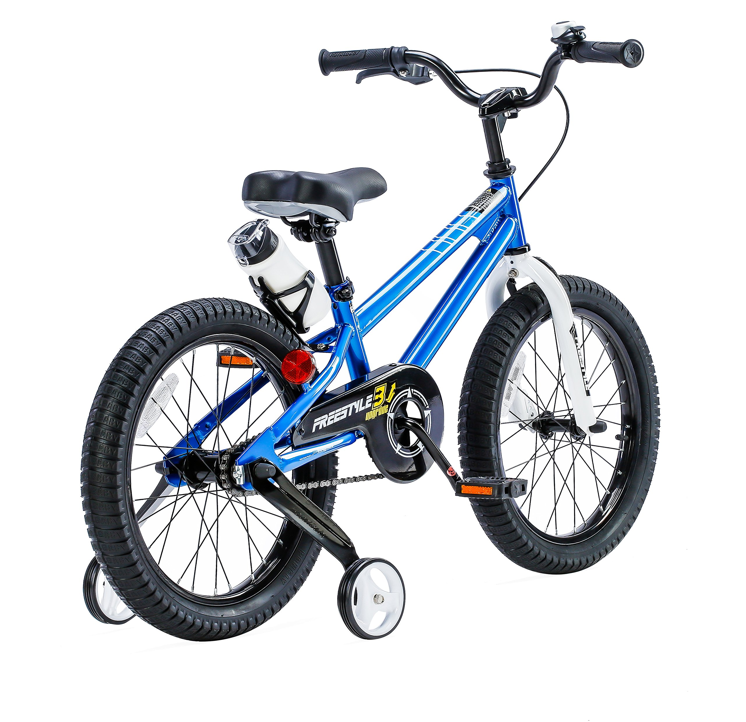 RoyalBaby BMX Freestyle Kids Bike, Boy's Bikes and Girl's Bikes with training wheels, 12 inch, 14 inch, 16 inch, 18 inch, Gifts for children by Royalbaby (Image #2)