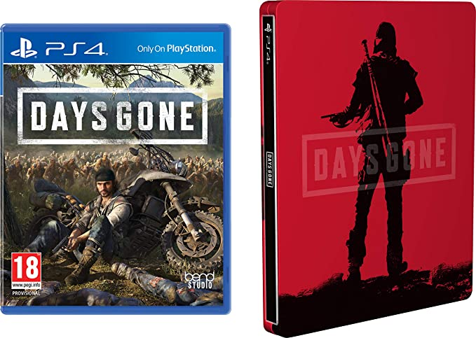 Days Gone + Steelbook para PlayStation 4 (Edición Exclusiva Amazon ...