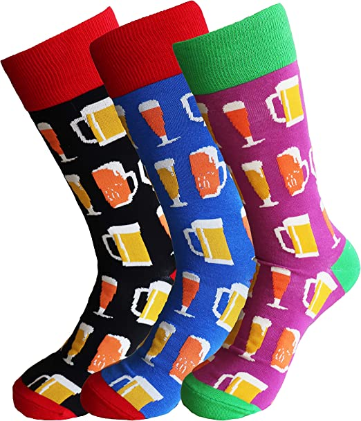 Sock Society Love Heart Valentines Unisex Men Women Fun Dress Casual Pattern Crew Luxury Funny Socks