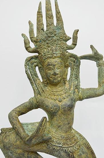 home decor art khmer angkor cambodian buddha statue nang teap apsorn figurine dancing - Amazon Home Decor