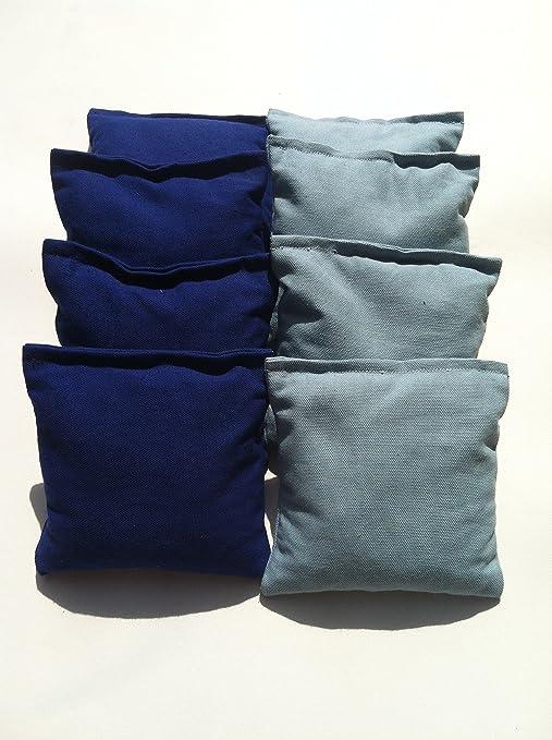 Light Blue /& Royal Blue Baggo//Cornhole Bean Bags